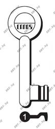 обикновен ключ стар метал от key.bg