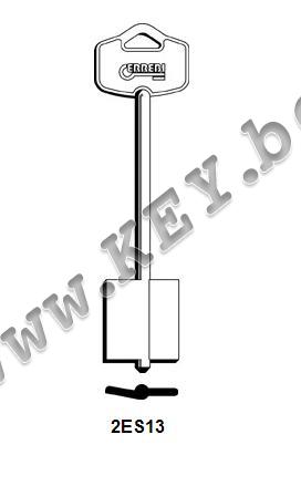 Заготовка за касов ключ от key.bg