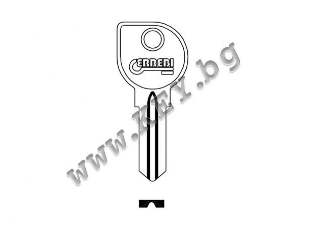 Заготовка за ключ за лодка от key.bg