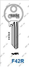 Заготовка за секретен ключ FAB от key.bg