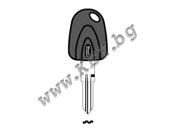 автомобилен ключ за палене и отключване от key.bg