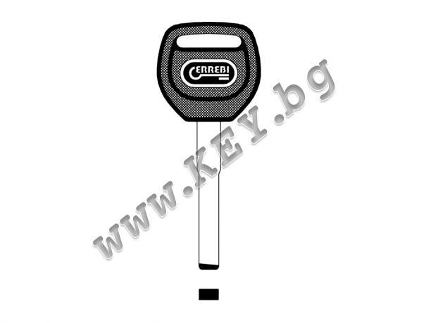 Заготовка за автомобилен ключ за Форд от key.bg