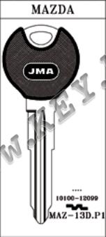 Заготовка за автомобилен ключ с пластмаса от key.bg