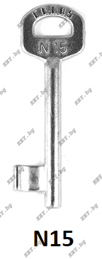 ключ обикновен 15 от key.bg