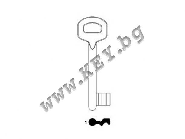 Ключ за брава Олимп от key.bg