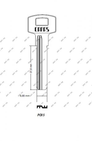 ямков ключ за китайски патрони от key.bg