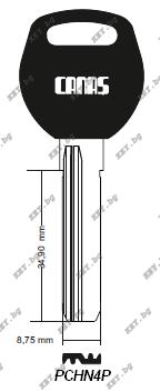 специален ключ за китайски ямкови патрони от key.bg