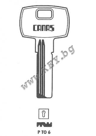 заготовка за ямков  ключ ито от key.bg
