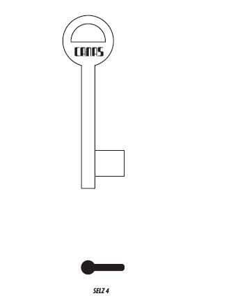 полусекретен  ключ