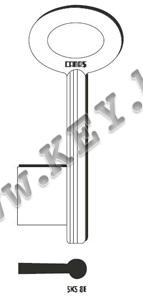Заготовка за сейфов ключ Canas от key.bg