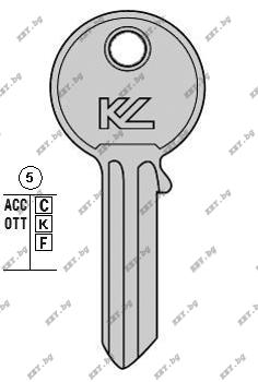 секретен ключ тънък универсал от key.bg