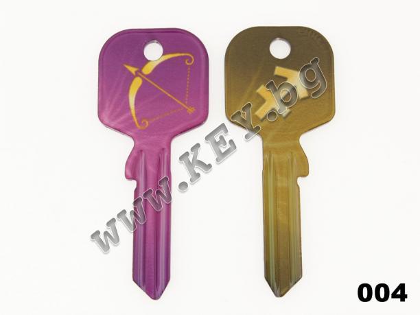 цветни ключове със зодии