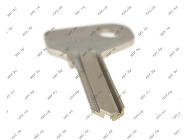 Автомобилен ключ без пластмаса