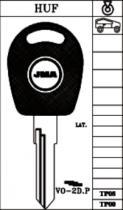 Заготовка за VW с място за чип от key.bg