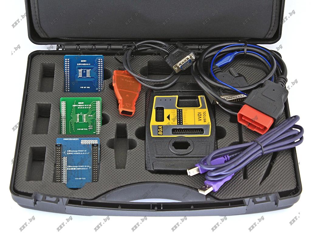 VVDI MB BGA Tool за програмиране на IR ключове за Мерцедес