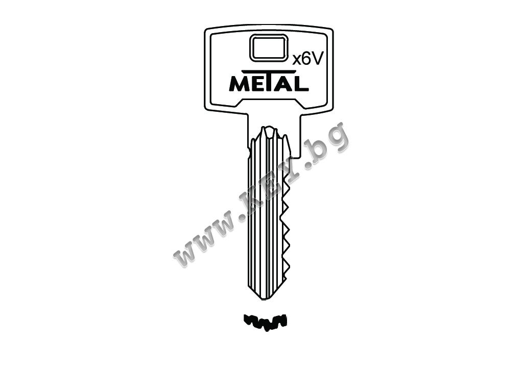 ключ X6V